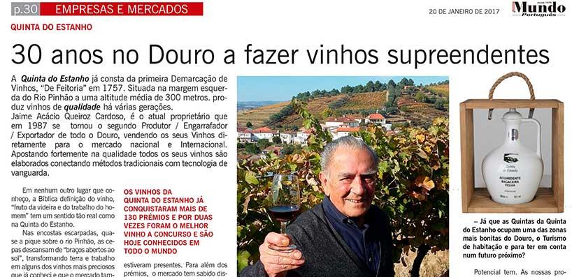 30 anos no Douro a fazer vinhos surpreendentes – Jornal Mundo Português